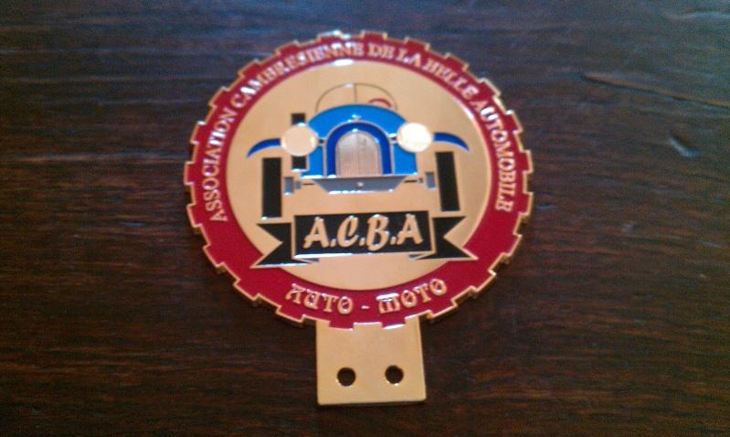 Badge de calandre logo DMC Imag0310