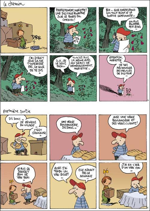 Le Retour à la terre - Tome 1: La vraie vie [Ferri, Jean-Yves & Larcenet, Manu] 97822019