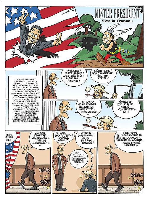 Mister President - Tome 2: Mister President en voyage [Clarke] 97828023