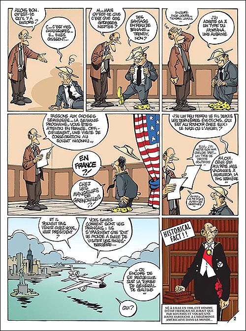 Mister President - Tome 2: Mister President en voyage [Clarke] 97828024
