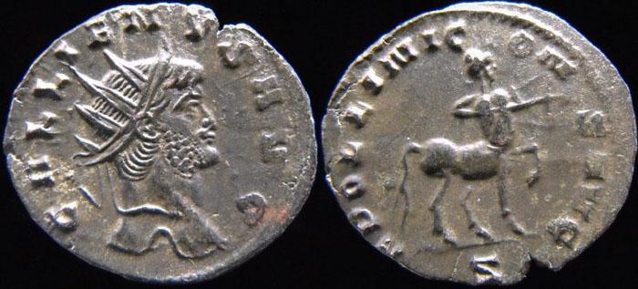 Valérien Ier, Gallien et leur famille (PYL) Centau10