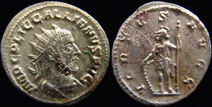 Valérien Ier, Gallien et leur famille (PYL) Virtus10