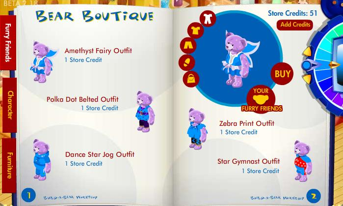 New stuff furry friend available in Bear Boutique! Bbff10