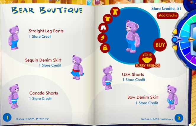 New stuff furry friend available in Bear Boutique! Bbff310