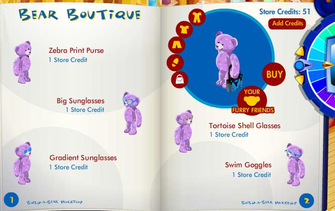 New stuff furry friend available in Bear Boutique! Bbff410
