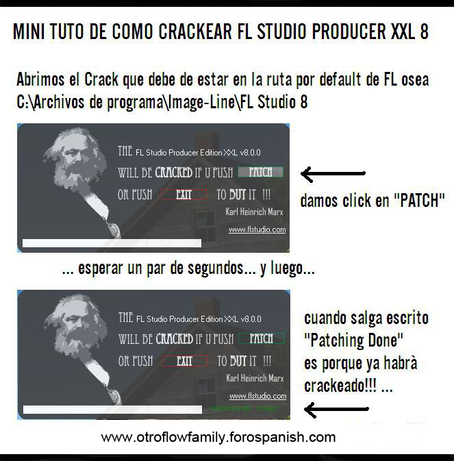 FL Studio 8 Comocr10