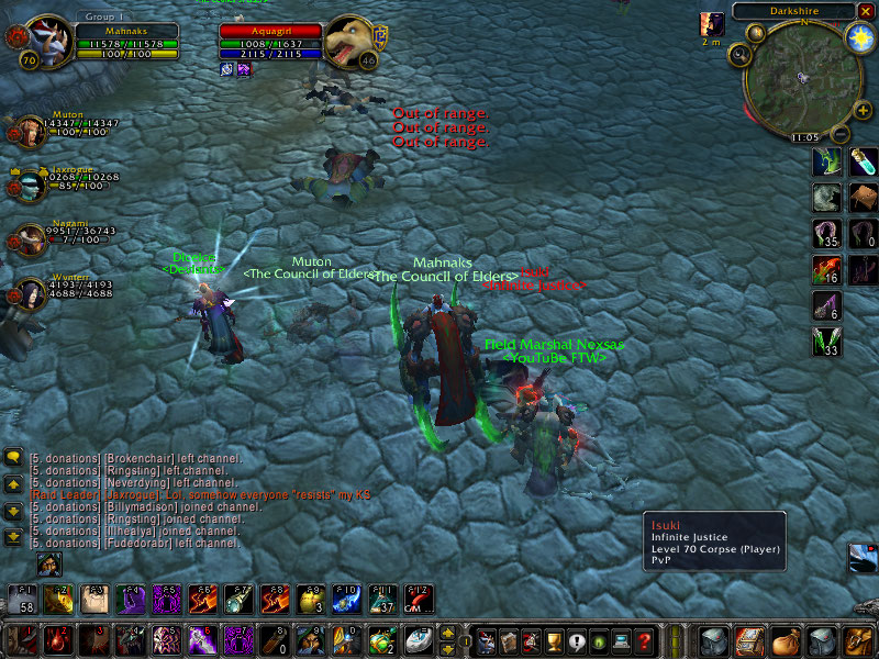 the council of elders owning darkshire again!!!!!! Wowscr63