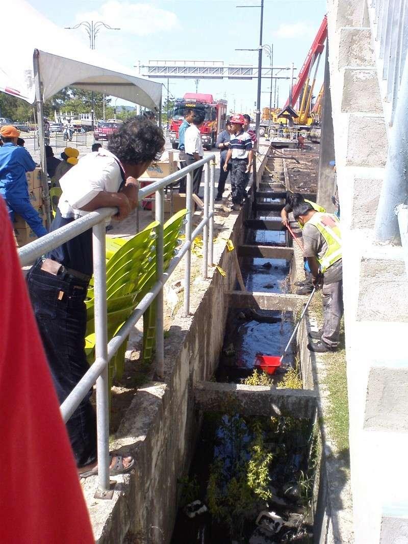 Tragedi Oktober Keretapi Negeri Sabah melanggar Lori Tangki Minyak Shell Kereta11
