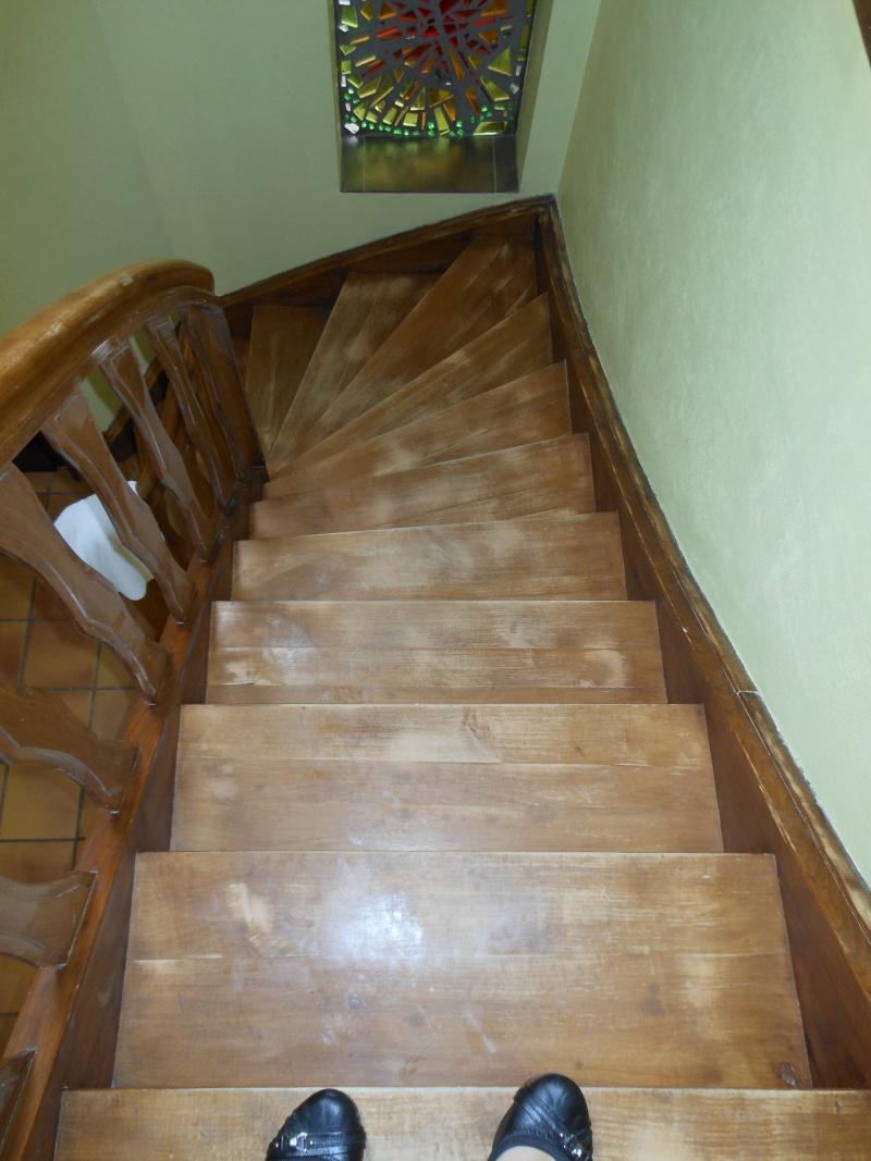 Comment donner un petit coup d'éclat à mon escalier ? Dscn2611