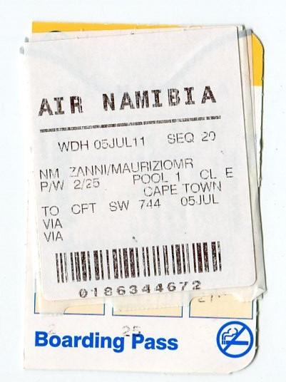 Africa 2011: Sud Africa, Namibia, Zambia su Yamaha XT 660 R e Yamaha XT 660 Z Tenerè Africa14