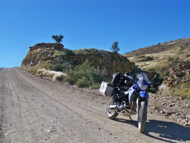 Africa 2011: Sud Africa, Namibia, Zambia su Yamaha XT 660 R e Yamaha XT 660 Z Tenerè Resiz114