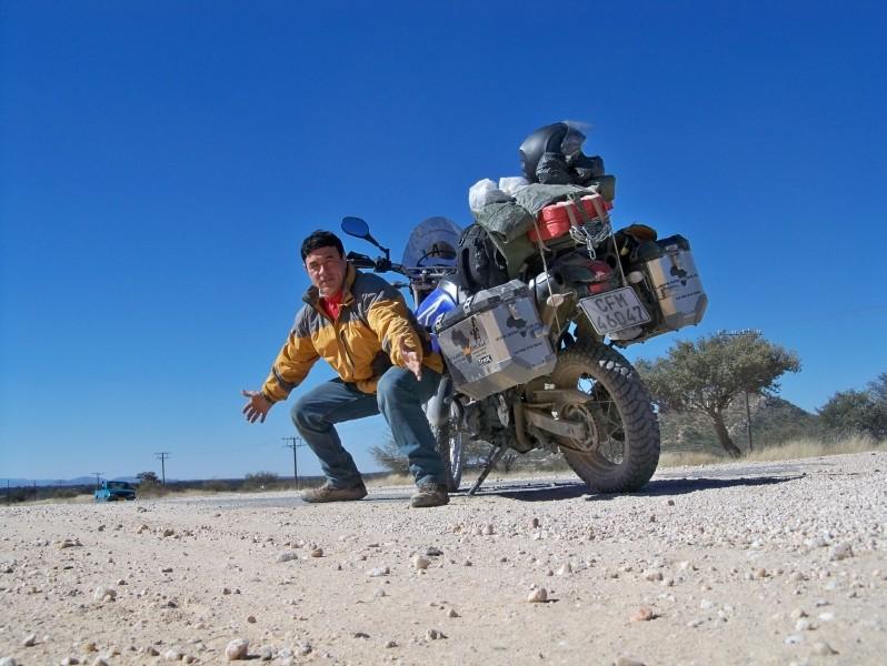 Africa 2011: Sud Africa, Namibia, Zambia su Yamaha XT 660 R e Yamaha XT 660 Z Tenerè Resiz120