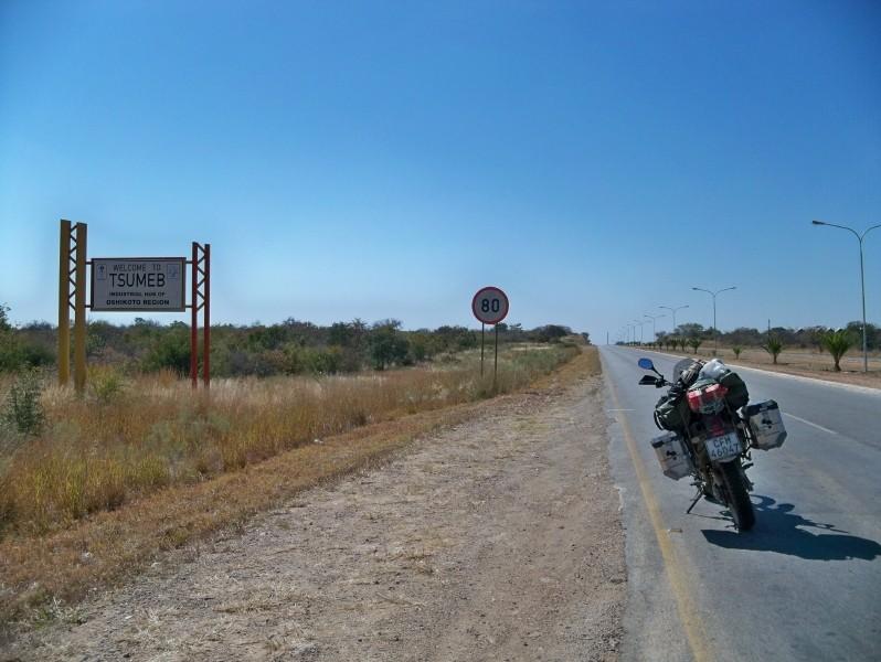 Africa 2011: Sud Africa, Namibia, Zambia su Yamaha XT 660 R e Yamaha XT 660 Z Tenerè Resiz131