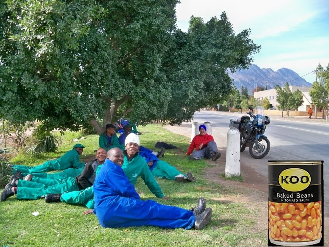 Africa 2011: Sud Africa, Namibia, Zambia su Yamaha XT 660 R e Yamaha XT 660 Z Tenerè Resiz312