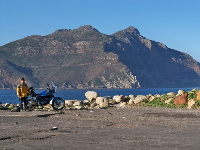 Africa 2011: Sud Africa, Namibia, Zambia su Yamaha XT 660 R e Yamaha XT 660 Z Tenerè Resiz344