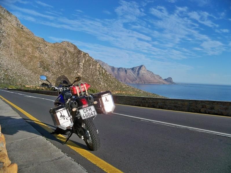 Africa 2011: Sud Africa, Namibia, Zambia su Yamaha XT 660 R e Yamaha XT 660 Z Tenerè Resize36