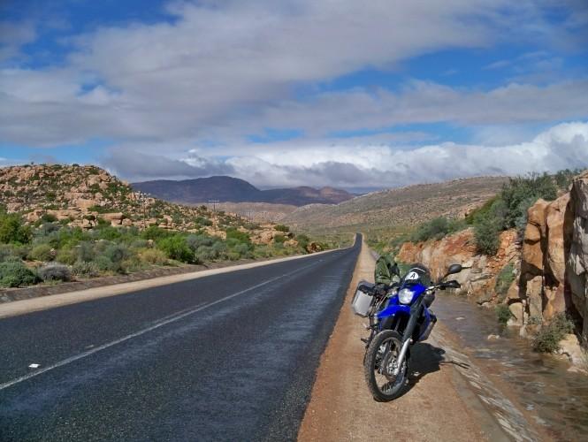 Africa 2011: Sud Africa, Namibia, Zambia su Yamaha XT 660 R e Yamaha XT 660 Z Tenerè Resize43