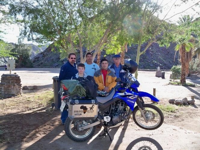 Africa 2011: Sud Africa, Namibia, Zambia su Yamaha XT 660 R e Yamaha XT 660 Z Tenerè Resize49