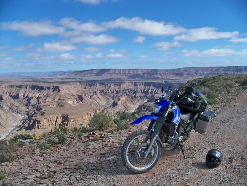 Africa 2011: Sud Africa, Namibia, Zambia su Yamaha XT 660 R e Yamaha XT 660 Z Tenerè Resize53