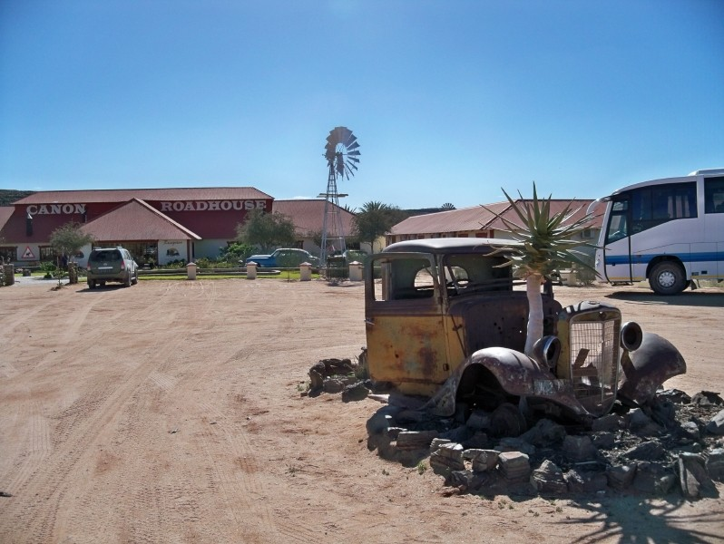 Africa 2011: Sud Africa, Namibia, Zambia su Yamaha XT 660 R e Yamaha XT 660 Z Tenerè Resize59
