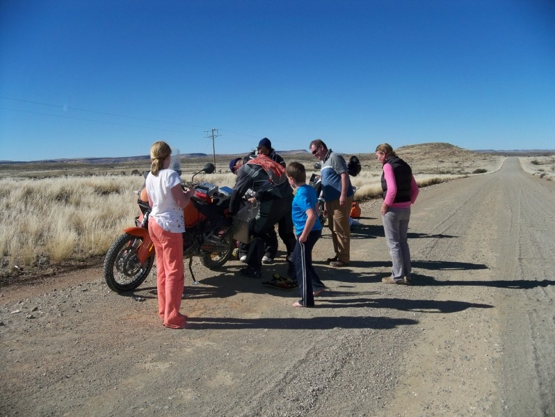 Africa 2011: Sud Africa, Namibia, Zambia su Yamaha XT 660 R e Yamaha XT 660 Z Tenerè Resize69