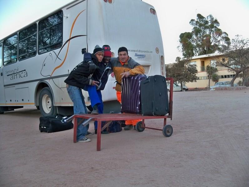 Africa 2011: Sud Africa, Namibia, Zambia su Yamaha XT 660 R e Yamaha XT 660 Z Tenerè Resize77