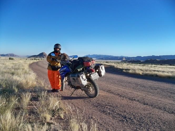 Africa 2011: Sud Africa, Namibia, Zambia su Yamaha XT 660 R e Yamaha XT 660 Z Tenerè Resize79
