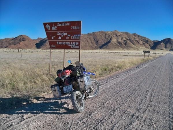 Africa 2011: Sud Africa, Namibia, Zambia su Yamaha XT 660 R e Yamaha XT 660 Z Tenerè Resize80