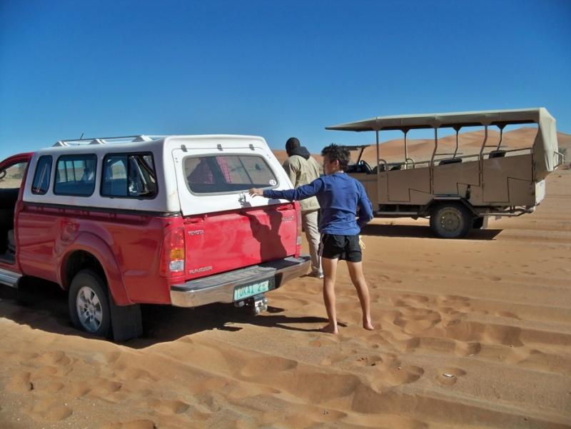 Africa 2011: Sud Africa, Namibia, Zambia su Yamaha XT 660 R e Yamaha XT 660 Z Tenerè Resize87