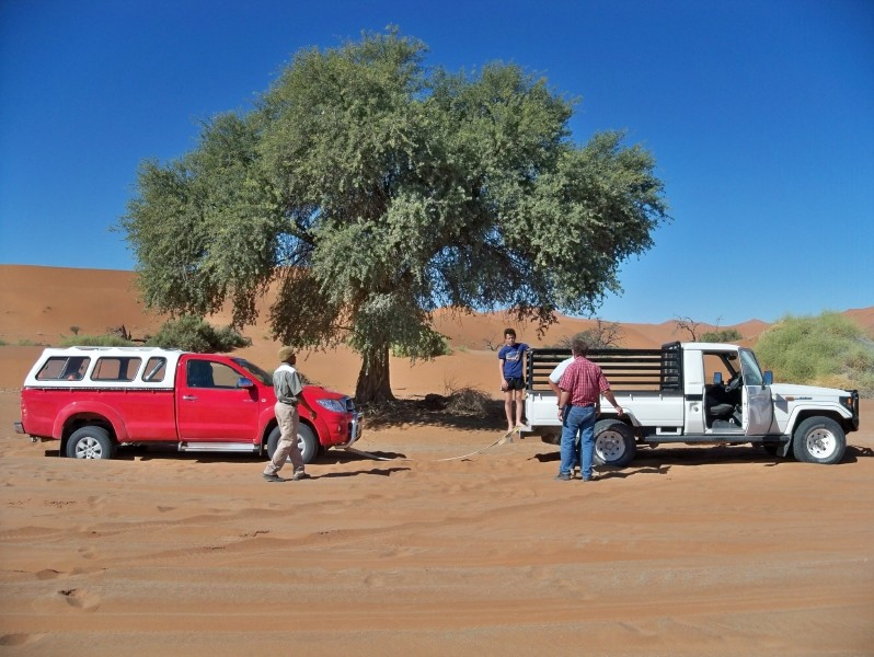Africa 2011: Sud Africa, Namibia, Zambia su Yamaha XT 660 R e Yamaha XT 660 Z Tenerè Resize95
