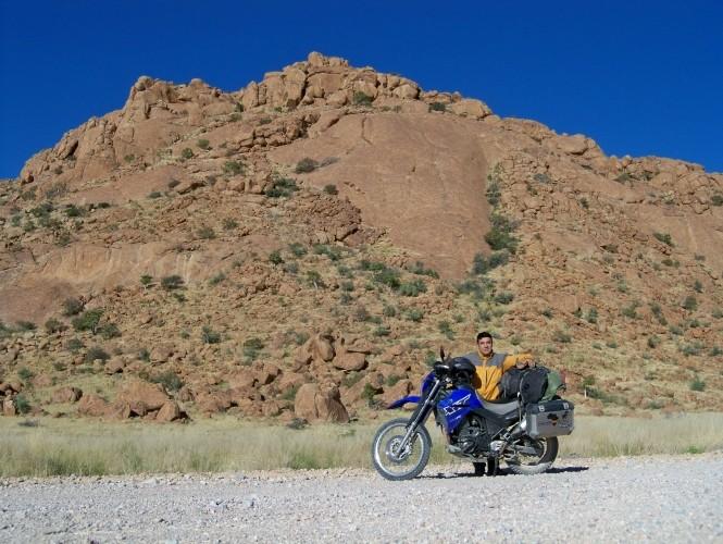 Africa 2011: Sud Africa, Namibia, Zambia su Yamaha XT 660 R e Yamaha XT 660 Z Tenerè Resize99
