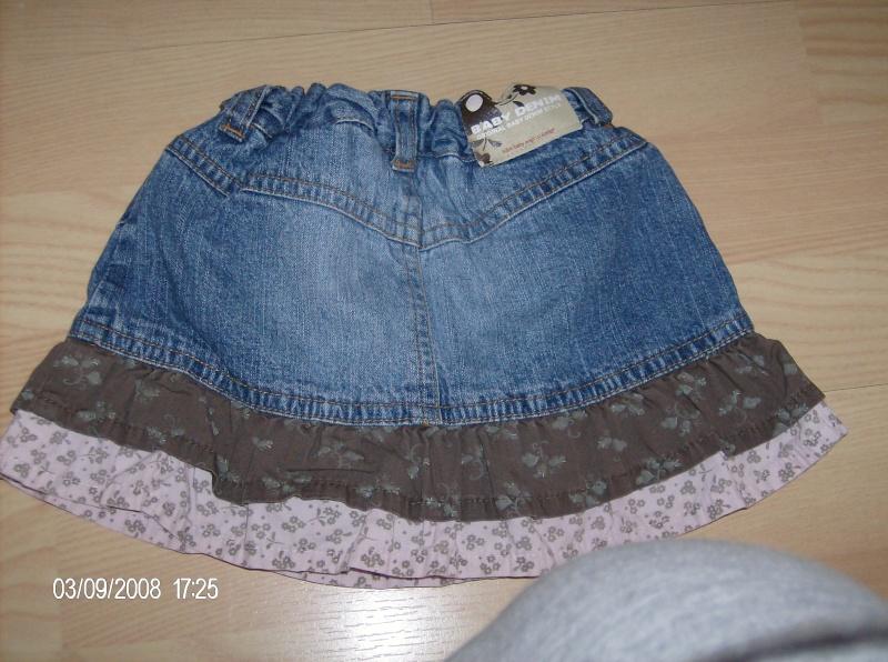 H&M baby jeans skirt  size 68 Rokje10