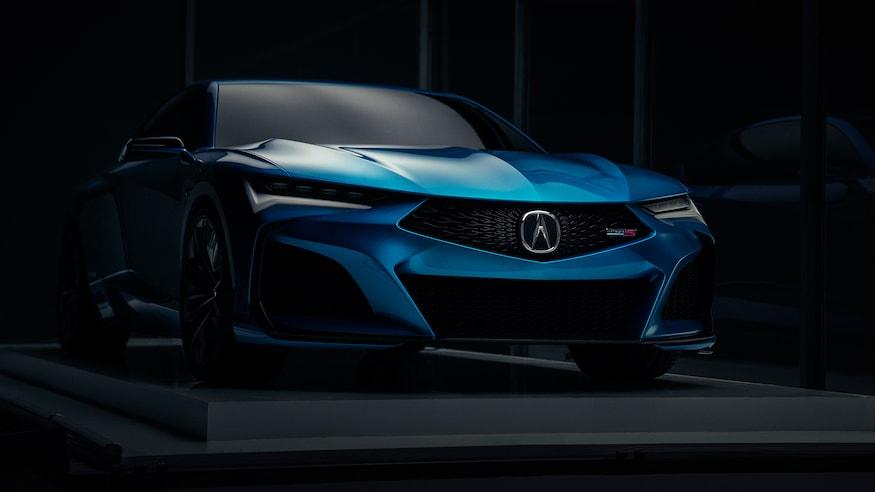 2019 - [Acura] Type S Concept Acura-10