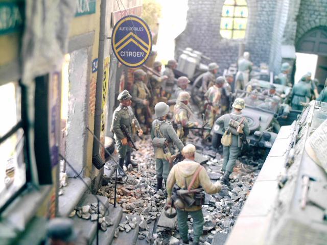 Village normand 1944 au 1/35 84031711