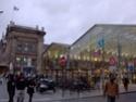 Photo gare + train + tramway à Paris. Hpim0614
