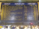Photo gare + train + tramway à Paris. Hpim0616