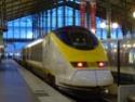 Photo gare + train + tramway à Paris. Hpim0620