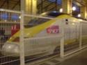 Photo gare + train + tramway à Paris. Hpim0626