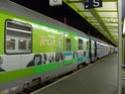 Photo gare + train + tramway à Paris. Hpim0631