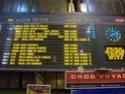Photo gare + train + tramway à Paris. Hpim0634