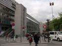 Photo gare + train + tramway à Paris. Hpim0650