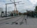 Photo gare + train + tramway à Paris. Hpim0713