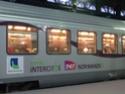 Photo gare + train + tramway à Paris. Hpim0811