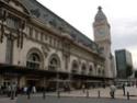 Photo gare + train + tramway à Paris. Hpim0814