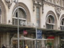 Photo gare + train + tramway à Paris. Hpim0815