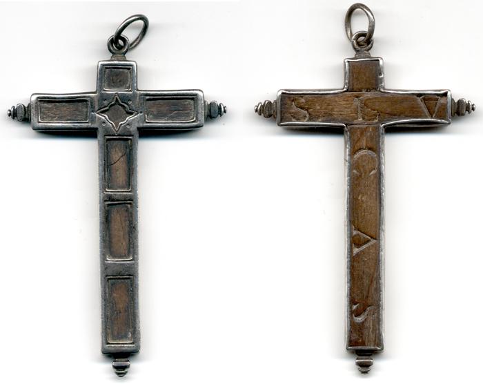 Cruz plata- madera S LVCAS S-XVII Cruzin10