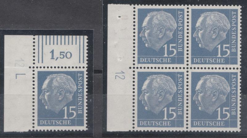 Bundespost Heuss Lumogen Img12