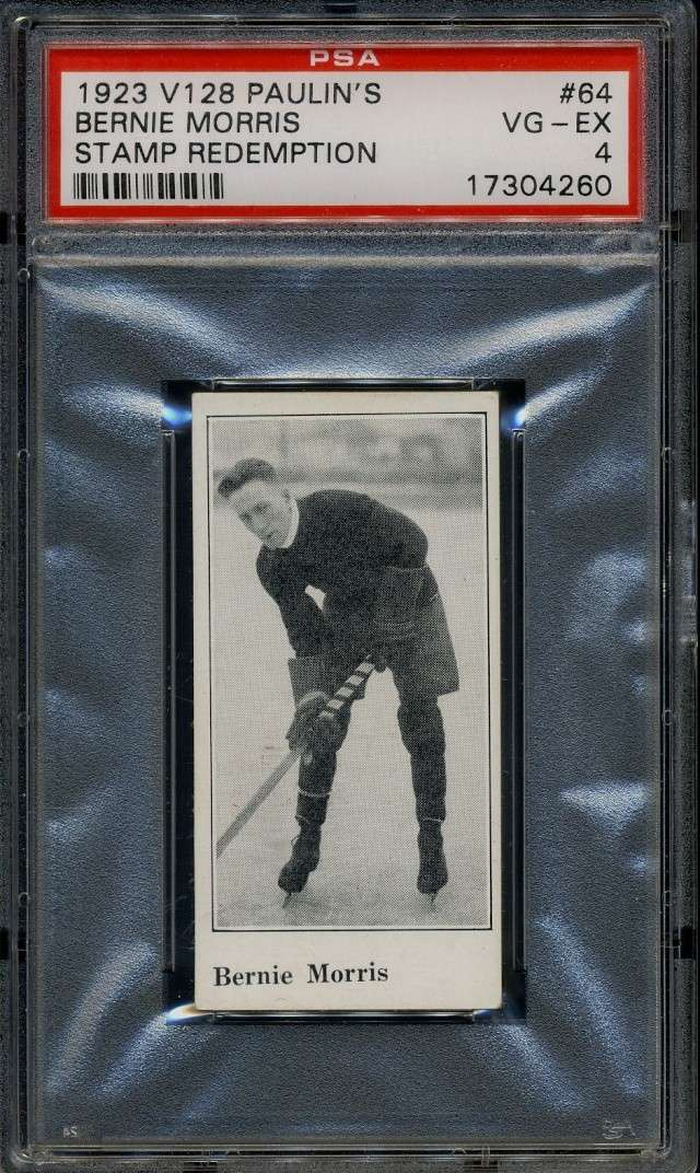 Anyone Working on a Pre-War or Vintage Hockey Set? Bernie10