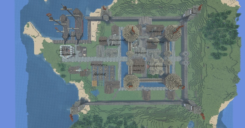 world of minecraft Ville111