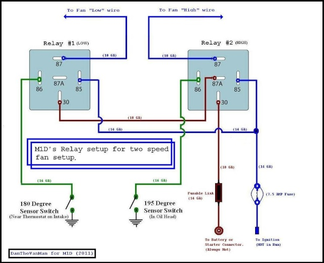 Double Relay Wiring Diagram - Wiring Diagram Work on